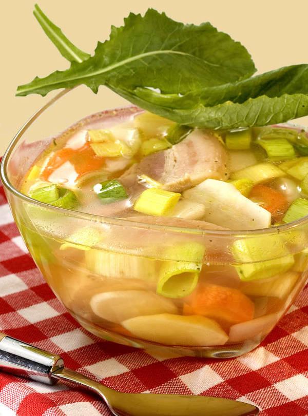 Soupe legumes pistou