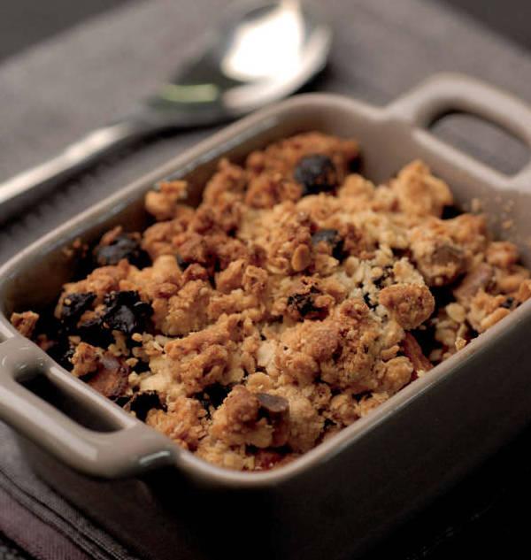 crumble de legumes gratiné