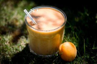 Smoothie abricot miel thym
