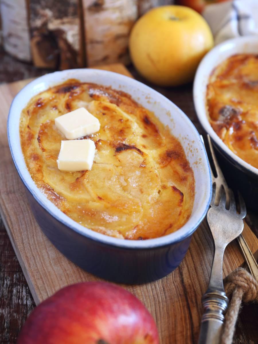 Clafoutis aux pommes recette facile
