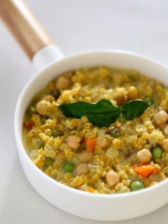 Curry de pois chiche lentille