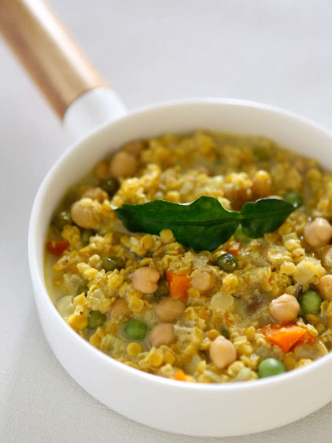 Curry de pois chiche lentille