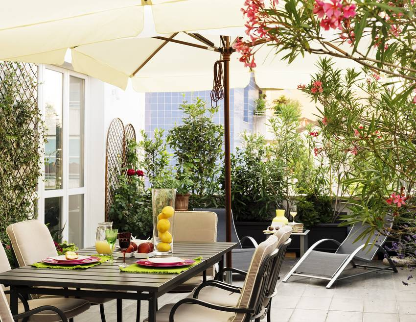 amenagement plante toit terrasse