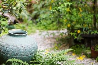 deco typique du jardin japonais