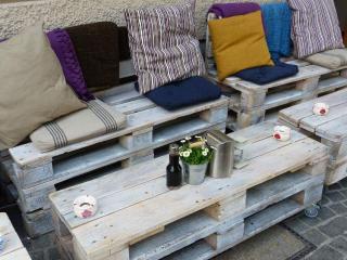 palette bois meuble jardin