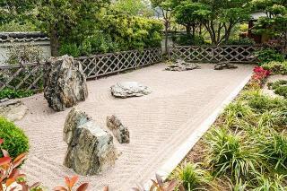 plan de jardin japonais