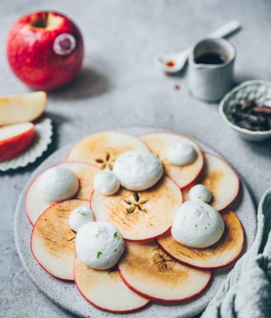 Carpaccio de pommes recette