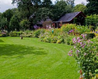 idee plan trace Jardin anglais