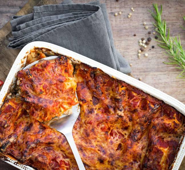recette des lasagnes aux aubergines et fromage frais