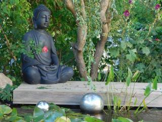 deco jardin mediation spirituel