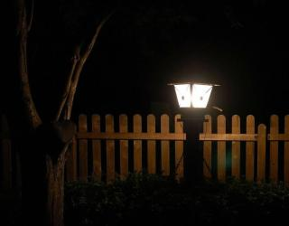 eclairage devant maison