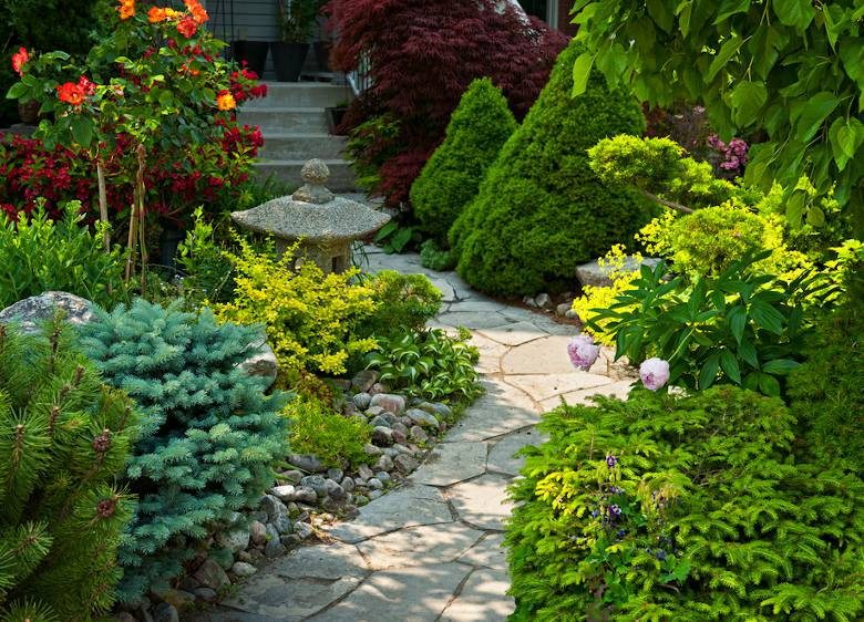 Extraordinaire 5 idées pour l'aménagement du jardin devant la maison - Jardiner Malin EQ-63