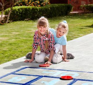 idee jeu enfant jardin exterieur