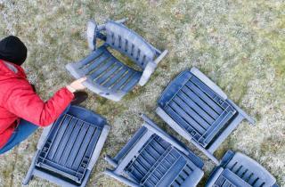 comment nettoyer mobilier jardin plastique