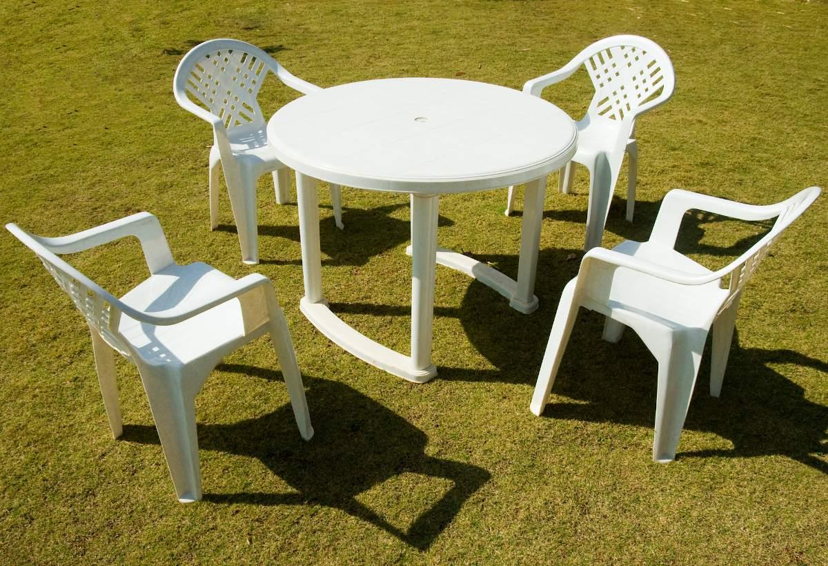Entretien du mobilier de jardin en plastique  Chaise, table, transat