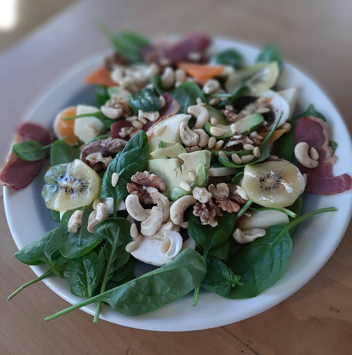 salade automne magret epinard