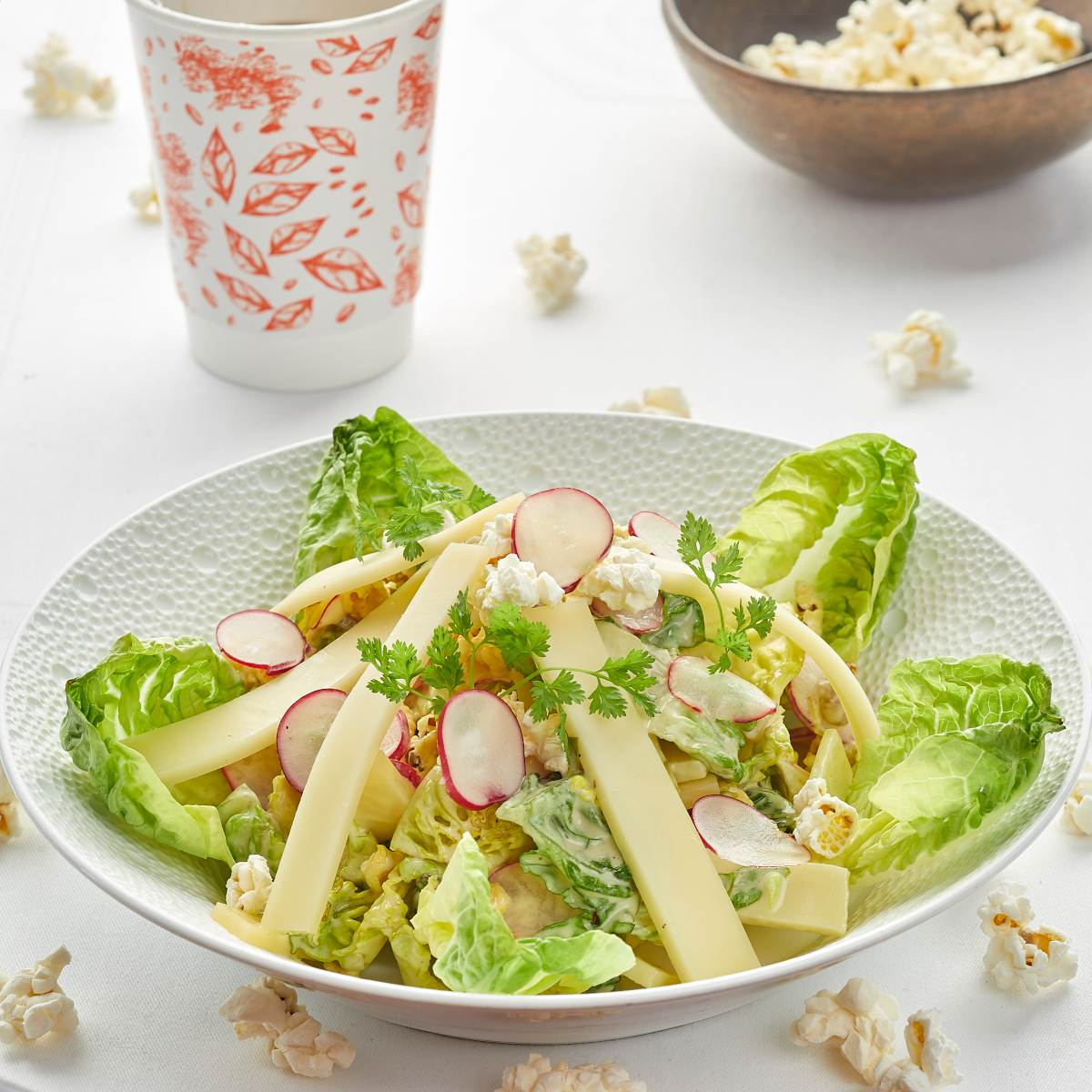 Salade Cesar chef Guy Martin recette