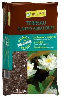 terreau plante aquatique substrat