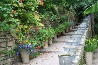 conseils pour amenager jardin avec des pots
