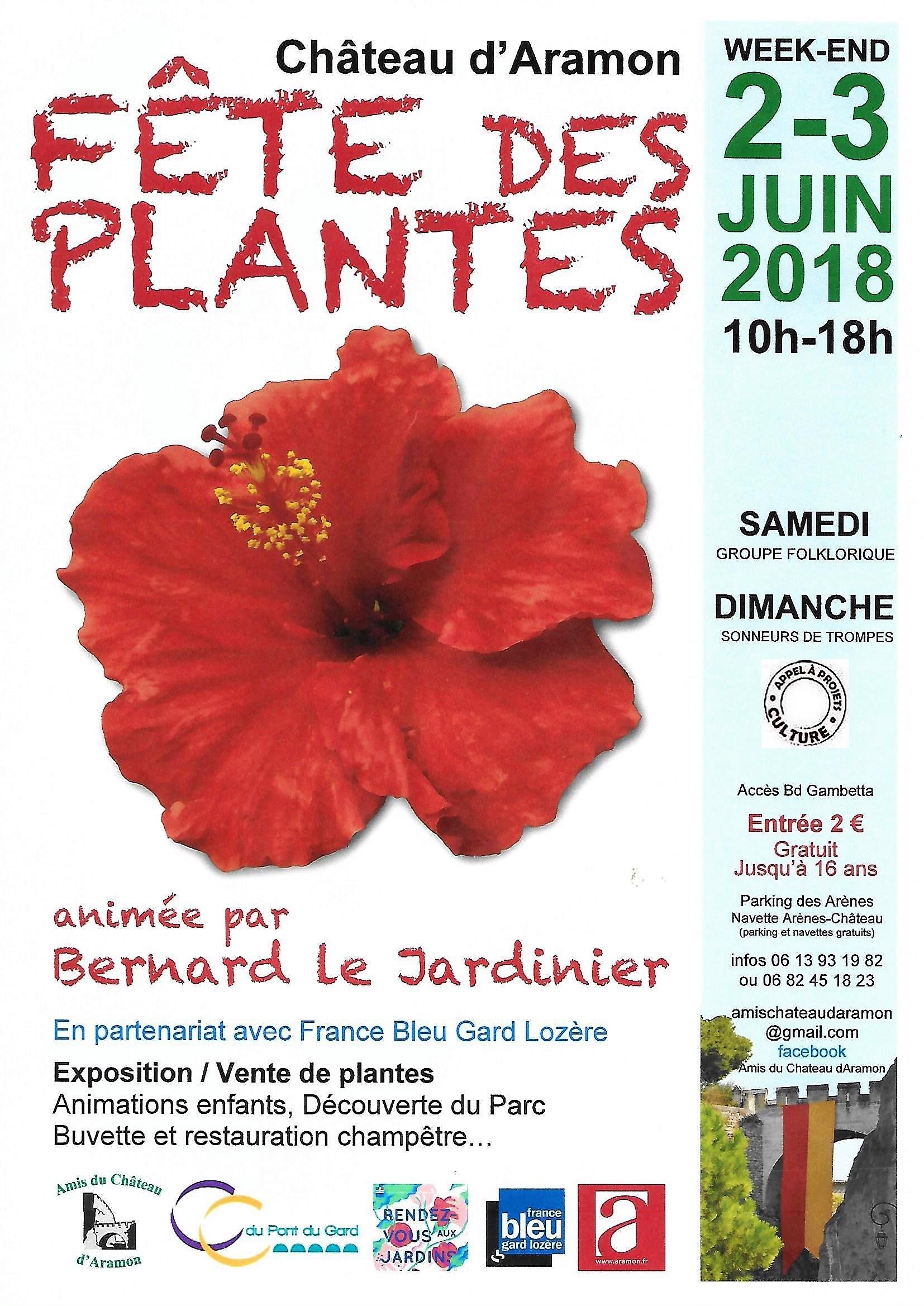 AFFICHE 2018 Fête des Plantes V1
