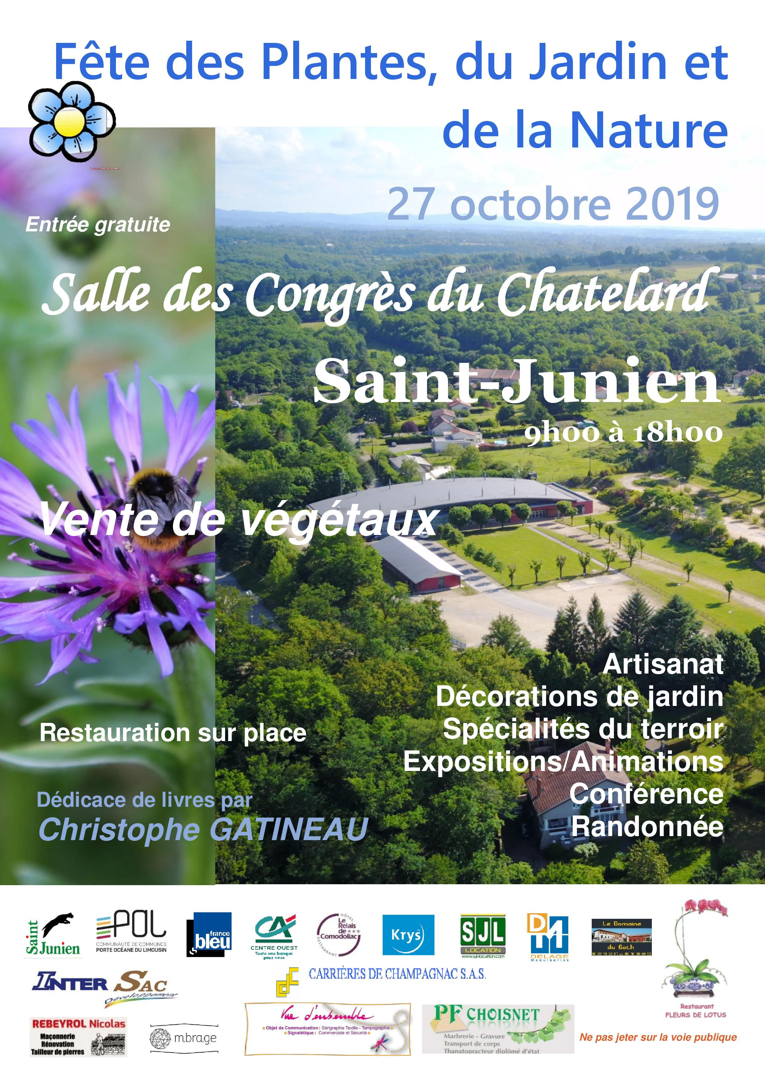 Affiche A4 RECTO Fete des plantes du jardin et de la Nature 2019