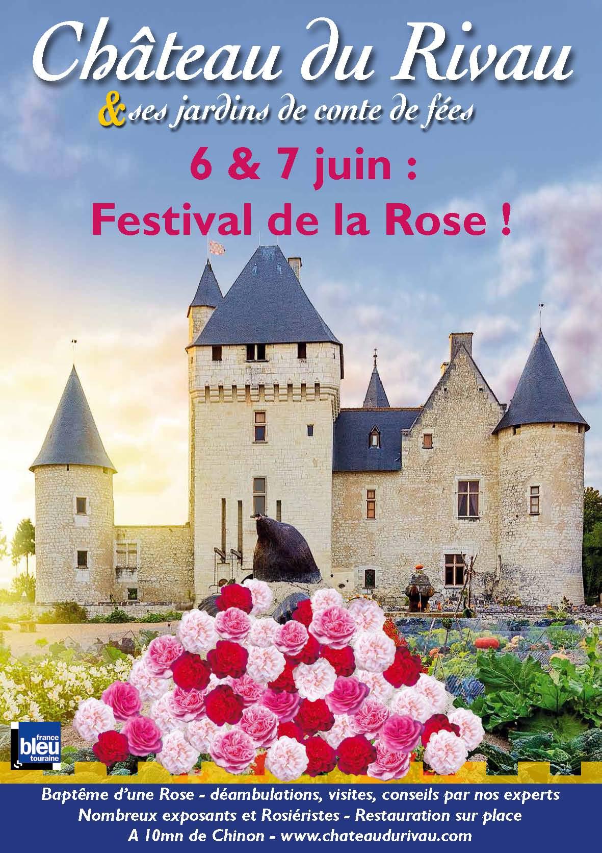 Affiche Fête des Roses 2020