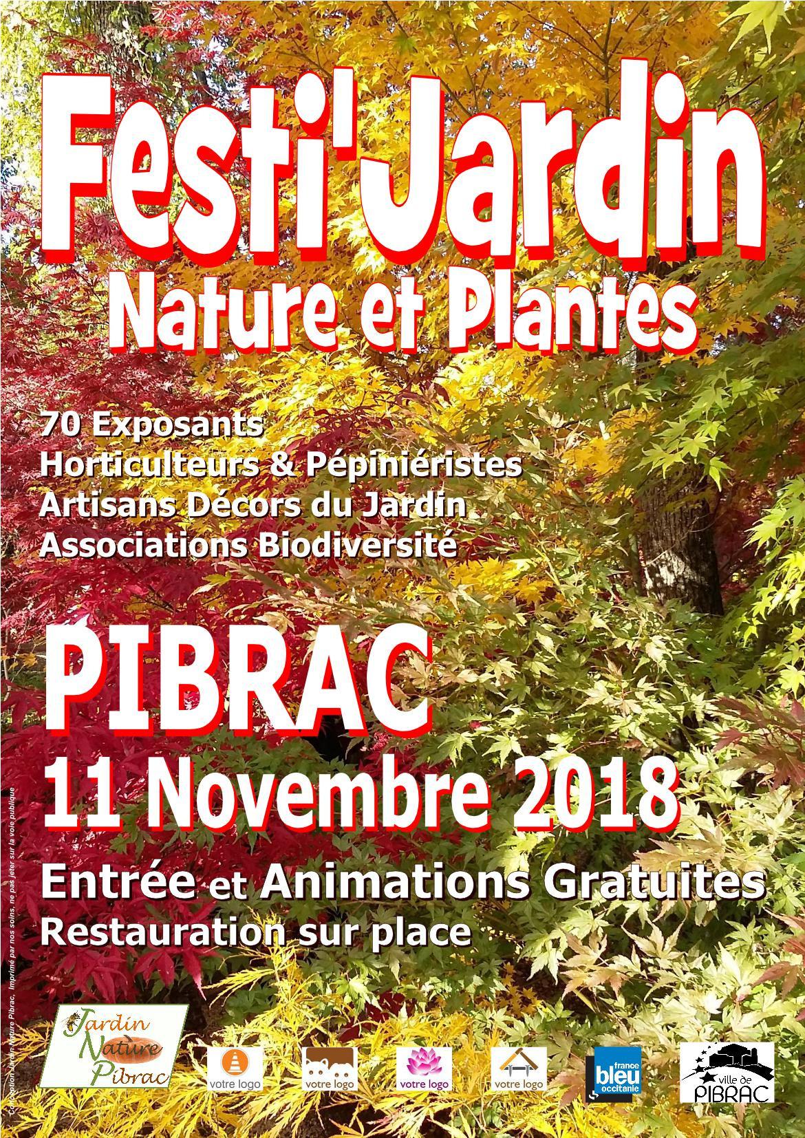 Affiche Festi Jardin 2018