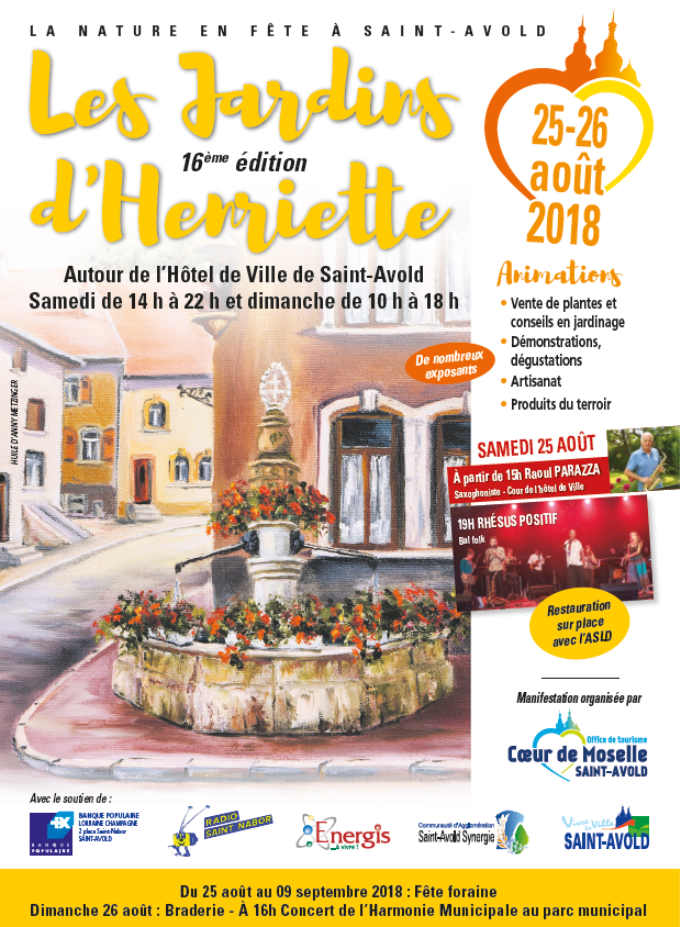Affiche finale Jardins d'Henriette 2018