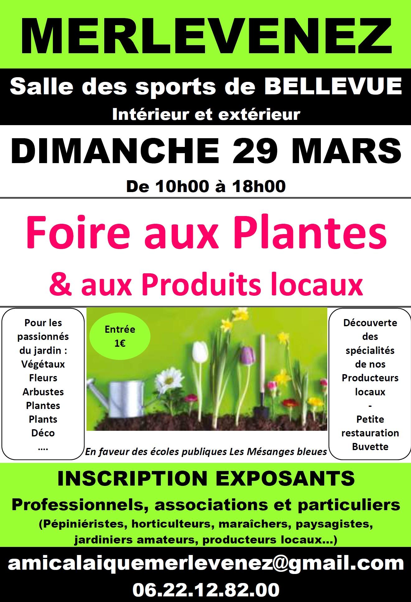 Flyer Foire aux plantes