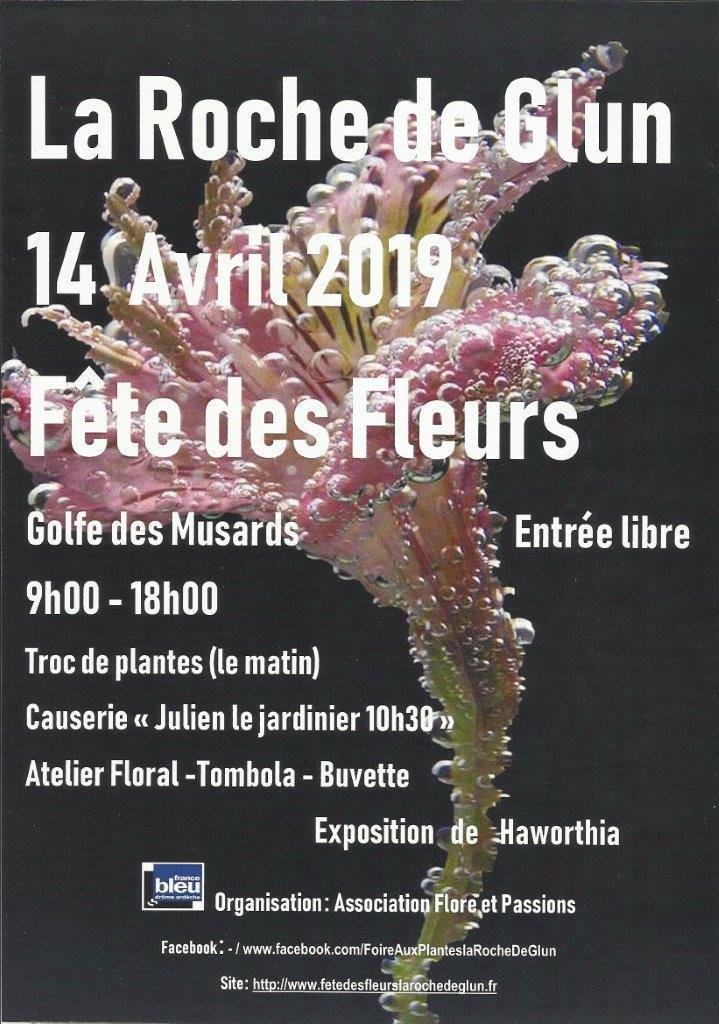 affiche 2019 Flore et Passions