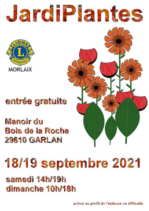 affiche Jardiplantes 2021